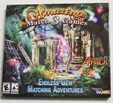 Amazing Match 3 Games Endless Gem Matching Adventures - PC