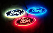 LED 4D WHITE RED BLUE Led FORD styling Logo REAR FRONT Badge Emblem