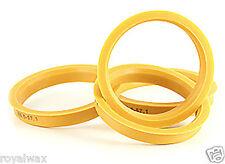Alloy Wheel Hub Centric Spigot Rings 73.1 - 70.3 Wheel Spacer Set of 4