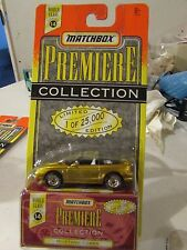 Matchbox Premiere Collection Mustang Cobra Limited Edition Gold