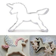 Unicorn Horse Cookies Cutter Mold Cake Decorating Pastry Baking Biscuit Mould
