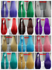 New 80cm Long Straight Cosplay Fashion Wig 12 Colors heat resistant Full wigs
