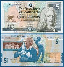 SCHOTTLAND / SCOTLAND 5 Pounds 2005 UNC P. 365