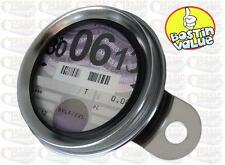 STAINLESS STEEL TAX DISC HOLDER IDEAL FOR BSA A7 A10 A50 A65 B44 B50