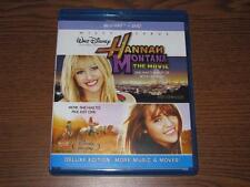 Hannah Montana The Movie (Blu-ray/DVD, 2010, 2-Disc Set)