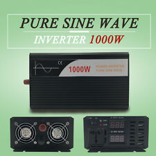 pure sine wave power Inverter solar 1000W DC 24V to AC 120V for Electronic