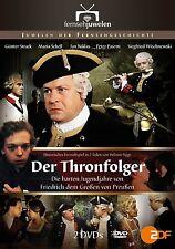 2 DVDs * DER THRONFOLGER - DIE HARTEN JUGENDJAHRE VON FRIEDRICH D. G.  # NEU