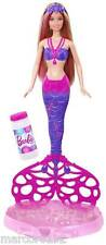Barbie Princess Bubble Tastic Mermaid Tail Spins to Make Bubbles New