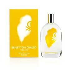 United Colors of Benetton Giallo Woman Eau De Toilette Spray 100ml/3.4oz