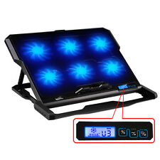 """14.6""""-15.6"""" Laptop cooler 2 USB Ports  Six cooling Fan laptop cooling pad stand"""