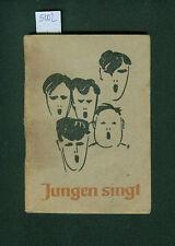 Jungen singt 138 Lieder 1949 Klaus Franken Josef Lindemann