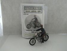 1:32 SCALE 54mm GREEVES GRIFFON 380 cc MOTORCYCLE WHITE METAL KIT