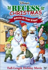 Recess Christmas: Miracle on Third Street (2005, REGION 1 DVD New)