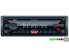 Sony dsx-a300dab FRONT AUX USB mp3 Car stereo DAB Radio Media Receiver-REFURB
