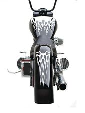Motorcycle Flame Gas Tank & Fender Decal sticker set fits Harley Universal FFS05