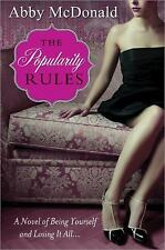 The Popularity Rules, McDonald, Abby, New Book