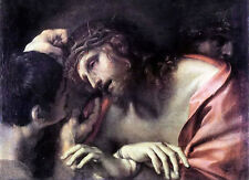 Oil painting annibale carracci - mocking of christ free shipping for all buyers