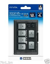 New HORI PlayStation Official licensed 12+4 Game & Memory Cards Case for PS Vita