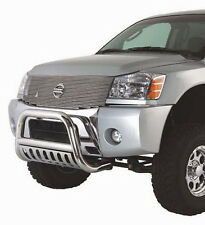 New Bull Bar With Skid Plate Fits 04-15 Nissan Armada/Titan Stainless Steel