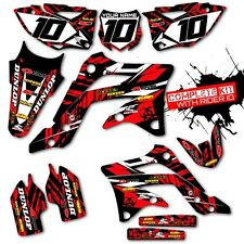 2008 HONDA CRF 450 R DIRT BIKE GRAPHICS KIT CRF450R MOTOCROSS DIRT BIKE DECALS