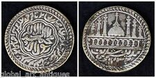 Islamic Token Base Metal Mosque Series With Madina Sharif Legend Ah 1232. G29-77