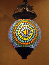 Moroccan Hanging Swag Light Lamp Mosaic Lamps Ceiling Pendant Lamps 6""