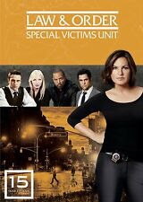 Law & Order . Special Victims Unit . Complete Season 15 . New York . 5 DVD . NEU