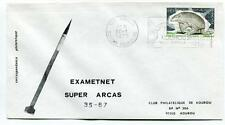 1975 Exametnet Super Arcas 35/67 Kourou Guyane Francaise Ville Spatiale SPACE