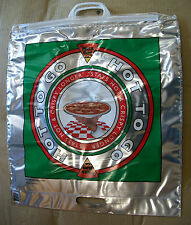 "100 Insulated Pizza Bags Keep Hot Foods Warm HOT TO GO 20"" x 19"" Foil Bag"