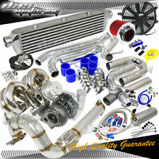 B-SERIES B16/B18 T3 380+HPS BOOST RAM HORN MANIFOLD/DOWNPIPE TURBO/CHARGER KIT