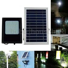 15W 120 Solar LED Floodlight Powered Panel Night Sensor Outdoor Garden Spot Lamp