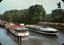 Mobby Dick on the River Havel, Berlin Germany, Tour Boats Europe Bear - Postcard