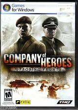 Company Of Heroes: Opposing Fronts - PC 752919493267 New Sealed!