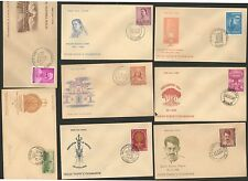 FDCYP - 036. INDIA 1962. Complete Year Pack with 15 First Day Covers.