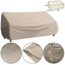 Waterproof High Back Patio 3 seats Sofa Cover Outdoor Furniture Protection