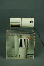 BRAUN HL70 Desk FAN + BOX Reiinhold Weiss Germany Modernist Vintage 70s 80s Era