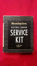 Vintage Men's Remington Electric Shaver Service Kit - Used - Collectible