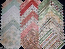 12x12 Scrapbook Cardstock Paper Vintage Old Winter Christmas Santa Claus 40 Lot