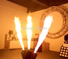 2x 3 Head Flame Thrower - DJ Band Stage Show Effect - DMX Fire Projector Machine