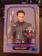 Star Wars 2012 Galactic Files 1 #51 Captain Typho Blue Parallel 248/350
