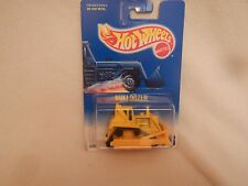 1991 Hot Wheels Bulldozer #146 White Card Bottom
