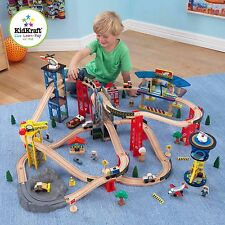 KidKraft Super Highway Train Set KID-17809
