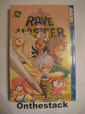 MANGA:  Rave Master Vol. 24 by Hiro Mashima (2007, Paperback)  In new condition!