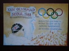 POSTCARD SOCIAL HISTORY XXIV OLYMPIAD SEOUL 1988 160 COUNTRIES REPRESENTED
