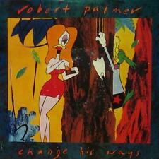 "Robert Palmer(7"" Vinyl P/S)Change His Ways-EM 85-UK-VG/Ex"