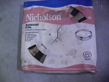 """Nicholson 250 Foot Band Saw Blade Coil Of 5/8"""" x .032 x 10 TPI  Wavy Carbon"""