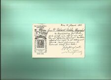 ~ HISTORICAL COVERS / AMAZING PHILATELIC STORY / TRIAL /  CARION FRIEDL  18