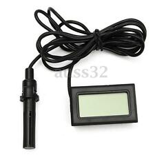 1.5V Digital Thermometer Hygrometer Humidity  Probe for Egg Incubator Poultry