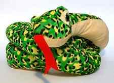 Schlange 130cm Lang Grün-Gelb gefleckt Plüsch ♦♦♦ NEU & OVP ♦♦♦