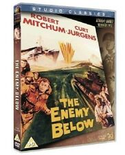 The Enemy Below DVD Robert Mitchum Brand New Sealed Original UK Release R2